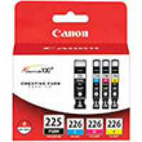 Genuine Canon 4530B008 Tri-Color Ink Cartridge (PGI-225 CLI226)