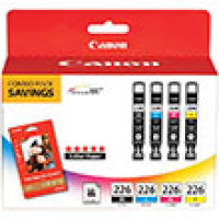 Genuine Canon 4546B007  (3 Color Combo Ink Pack) (CLI-226)
