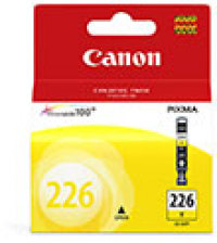 Genuine Canon CLI-226Y Yellow Ink Cartridge (4549B001)