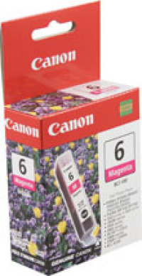Genuine Canon BCI-6M Magenta Ink Cartridge (4707A003)