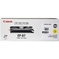Genuine Canon 7430A005BA Yellow Toner Cartridge (EP-87)