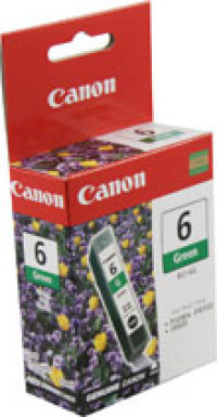 Genuine Canon BCI-6G Green Ink Cartridge (9473A003)