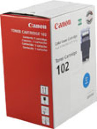 Genuine Canon CRG-102 Cyan Toner Cartridge (9644A006AA)