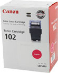 Genuine Canon CRG-102 Magenta Toner Cartridge (9643A006AA)