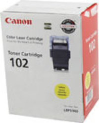 Genuine Canon CRG-102 Yellow Toner Cartridge (9642A006AA)