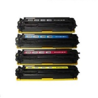 Canon CRG-116 - Remanufactured 4 Color Toner Catridge Set (Black, Cyan, Magenta, Yellow)