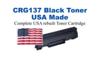 CRG137 USA Made Remanufactured Dell toner 2,400