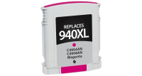 HP 940XL Remanufactured Ink Cartridge Magenta (C4908AN) (#940XL)
