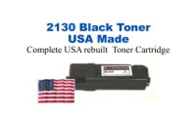 DELL2130-2135B USA Made Remanufactured Dell toner 2,500