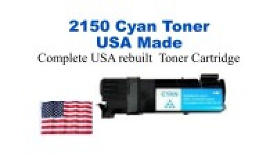 DELL2150HYY USA Made Remanufactured Dell toner 2,500