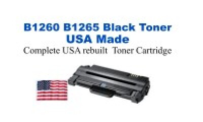 DELLB1260 USA Made Remanufactured Dell toner 2,500