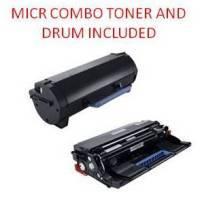DELL B3460DN Black Remanufactured MICR Toner/Drum Combo (20,000 Yield)