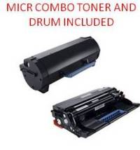DELL B5460DN/65DN Black Remanufactured 25K MICR Toner/Drum Combo X5GDJ