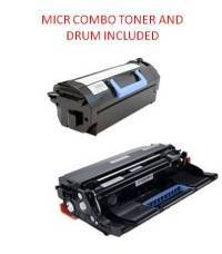 DELL S5830dn Black Remanufactured 45K Yield MICR Toner/Drum Combo 8XTXR