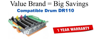 Brother DR110CL Remanufactured Drum Cartridge