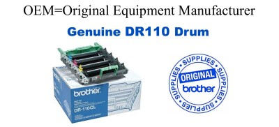 DR110CL 4-Color Genuine Brother Drum