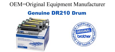 DR210CL 4-Color Genuine Brother Drum