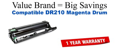 DR210M Magenta Compatible Value Brand Drum