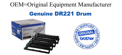 Genuine Brother DR221CL Drum Cartridge