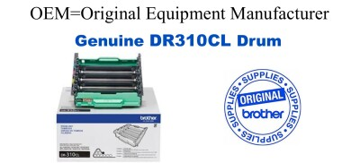 DR310CL 4-Color Genuine Brother Drum