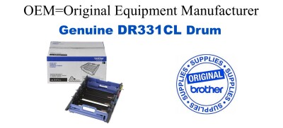 DR331CL 4-Color Genuine Brother Drum