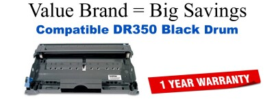 DR350 Black Compatible Value Brand Drum