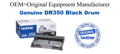 DR350 Black Genuine Brother Drum