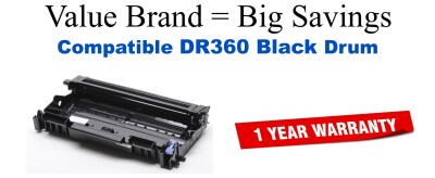 Brother DR360 Drum Remanufactured Drum Cartridge