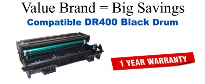 DR400 Black Compatible Value Brand Drum