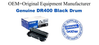 DR400 Black Genuine Brother Drum