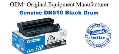 DR510 Black Genuine Brother Drum