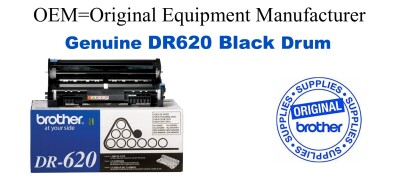 DR620 Black Genuine Brother Drum