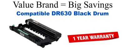 DR630 Black Compatible Value Brand Drum