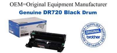 DR720 Black Genuine Brother Drum