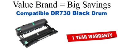 Brother DR730 Remanufactured Drum Cartridge