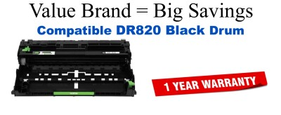 Brother DR820 Remanufactured Drum Cartridge