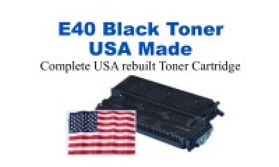1492A002CA,E40 Black Premium USA Made Remanufactured Canon toner
