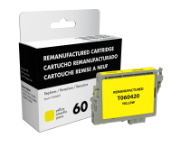 Epson T060420 Remanufactured Yellow Ink Cartridge