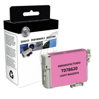 Epson T078620 Remanufactured Light Magenta Ink Cartridge