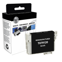 Epson T079120 Remanufactured Black Ink Cartridge