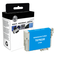 Epson T079220 Remanufactured Cyan Ink Cartridge