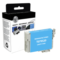 Epson T079520 Remanufactured Light Cyan Ink Cartridge