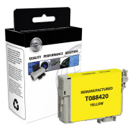 Epson T088420 Remanufactured Yellow Ink Cartridge