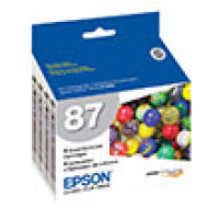 Genuine Epson T087020 Gloss Optimizer Ink Cartridge