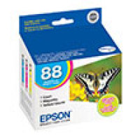 Genuine Epson T088520 Tri-Color Combo Pack Ink Cartridge