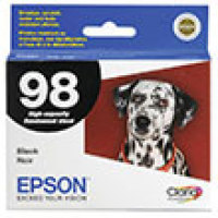 Genuine Epson T098120 High Yield Black Ink Cartridge