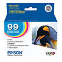 Genuine Epson T099920 Tri-Color Combo Pack Ink Cartridge