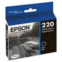 Genuine Epson T220120 Black Ink Cartridge