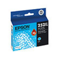 Genuine Epson T252XL220 XL High Yield Cyan Ink Cartridge