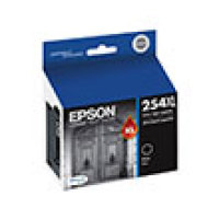 Genuine Epson T254XL120 XL High Yield Black Ink Cartridge